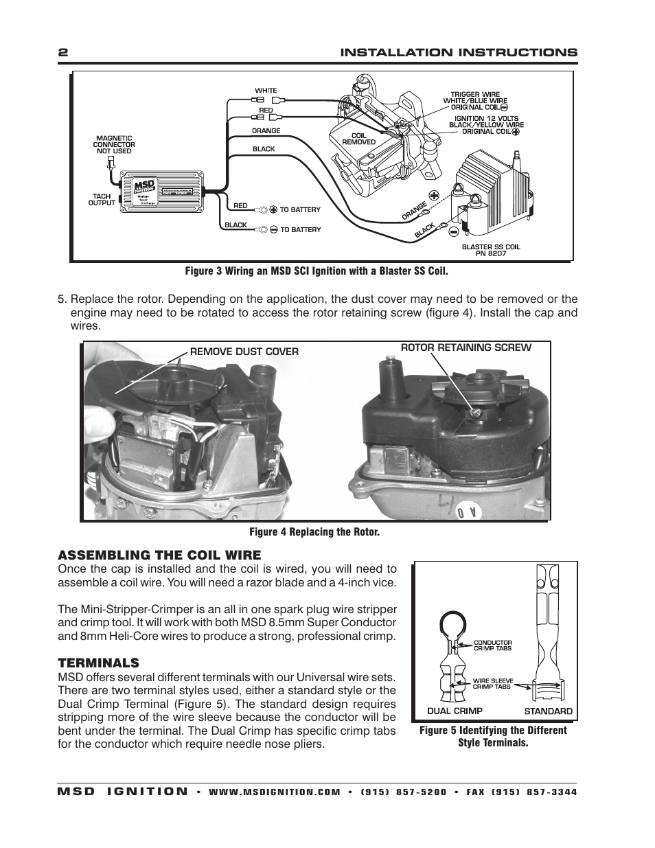 Gsr Distributor Wiring Diagram Library Msd Coil Ignition Conversion Hondatech 82933 Modified Cap And Rotor For Acura Integra 94 01 Installation User