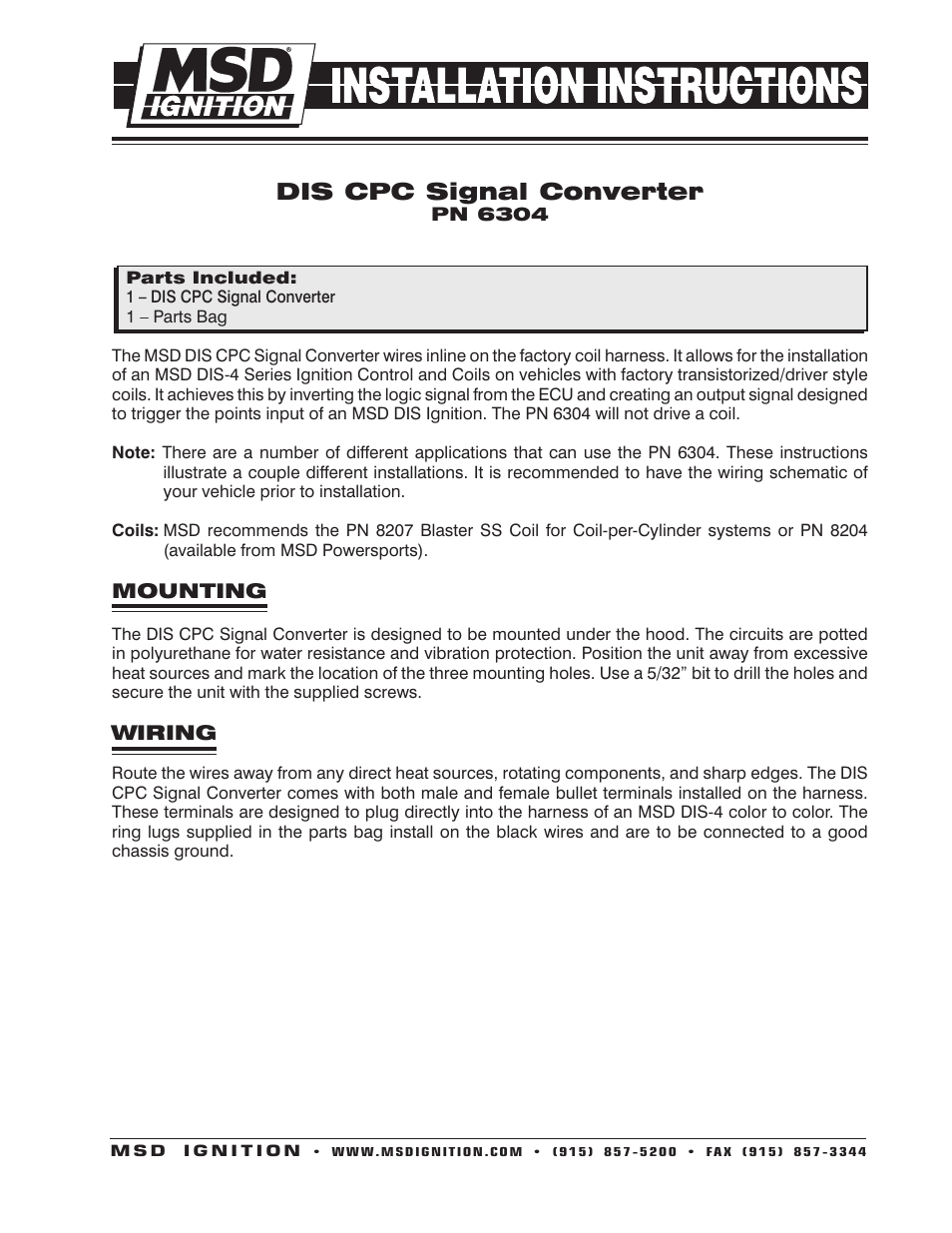 msd 6304 dis cpc signal converter 4 channel installation page1 msd 6304 dis cpc signal converter, 4 channel installation user msd 6200 wiring diagram at gsmx.co