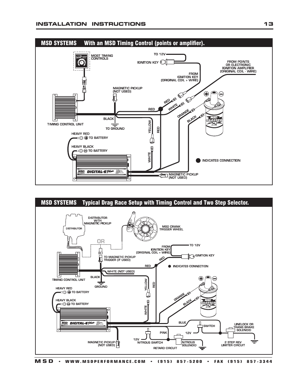 Rpc Distributor Wiring Diagram Starting Know About Exiss Trailer Msd Digital 6 Plus