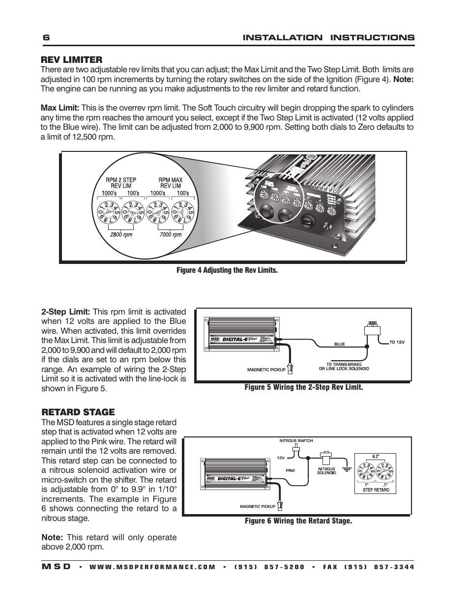 Msd 2 Step Wiring Diagram  Msd Two Step Wiring Diagram