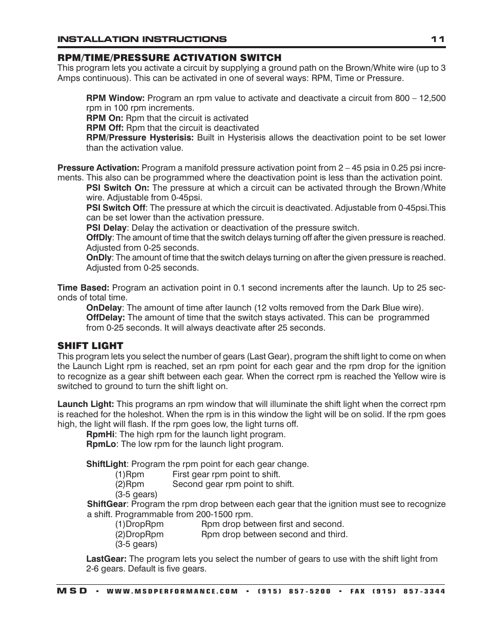 Msd 7531 Ignition Wiring Diagrams Programmable Digital Plus Installation User Manual Page 954x1235