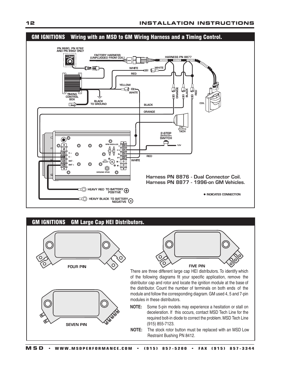 msd-7222-7al-2-ignition-control-installation-page12 Gm Wiring Diagram Coil In Cap on hei coil diagram, gm starter diagram, passlock ii diagram, gm hei ignition module wiring, gm hei wiring schematic, gm points ignition circuit diagram, gm coil testing, gm passkey bypass diagram, passlock 1 bypass diagram, coil pack diagram, gm distributor diagram, 2002 gm passlock diagram, gm coil connector, gm goodwrench vehicle security system diagram, gm coil pack wiring,