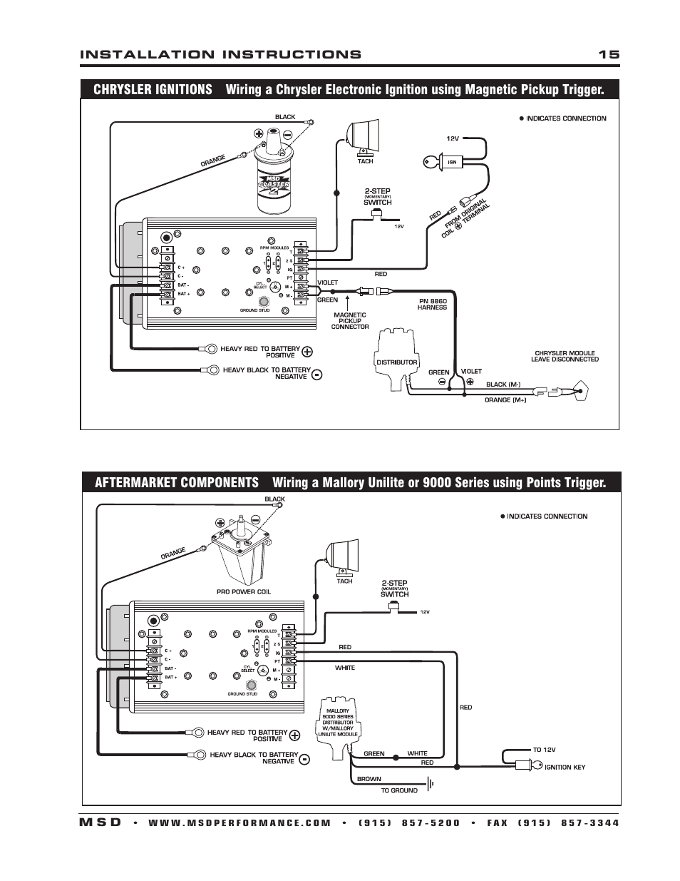 Msd 2 Step Wiring Diagram from www.manualsdir.com