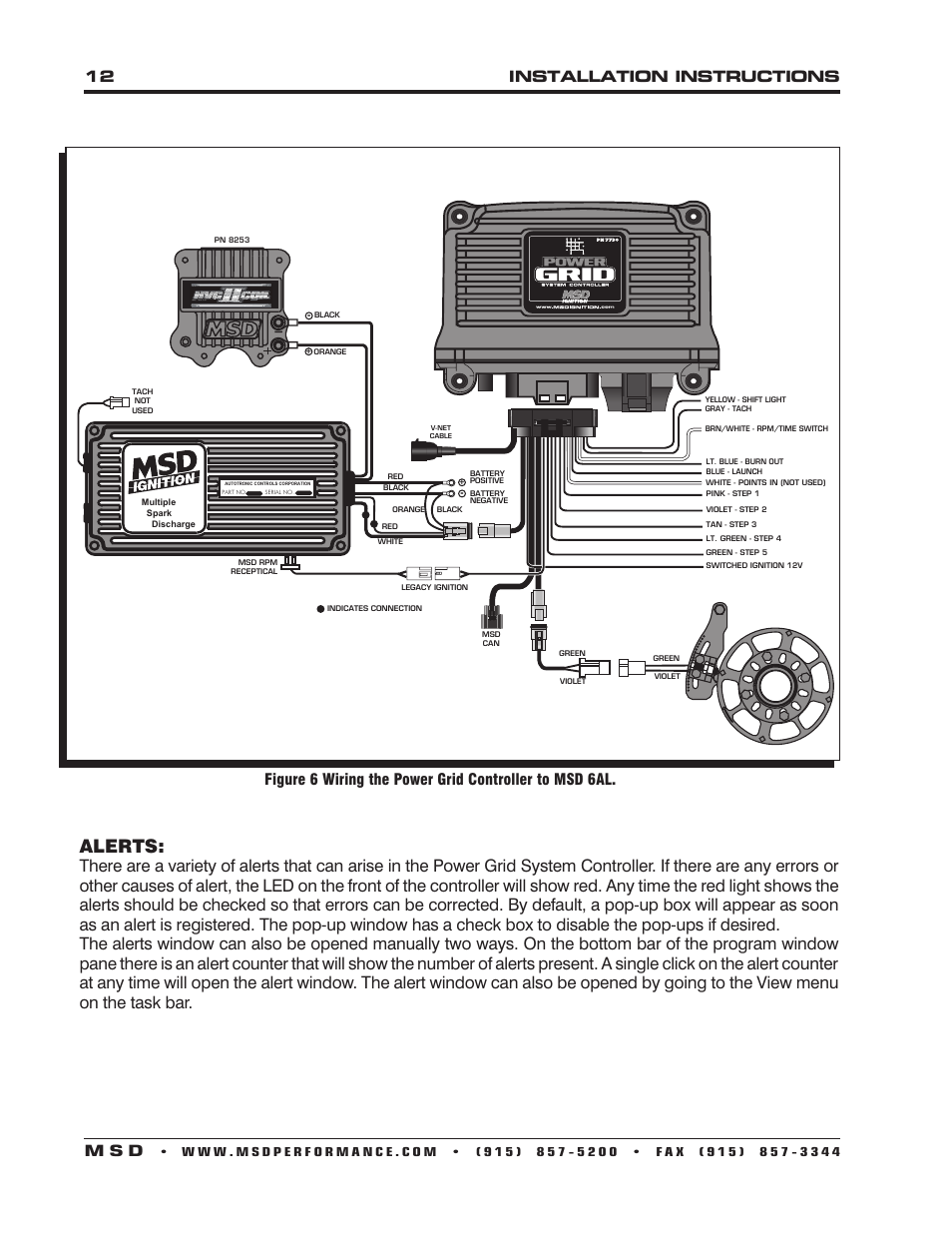 Msd 6al Wiring Diagram System Download Diagrams How To Wire Grid 15 Images For Tach
