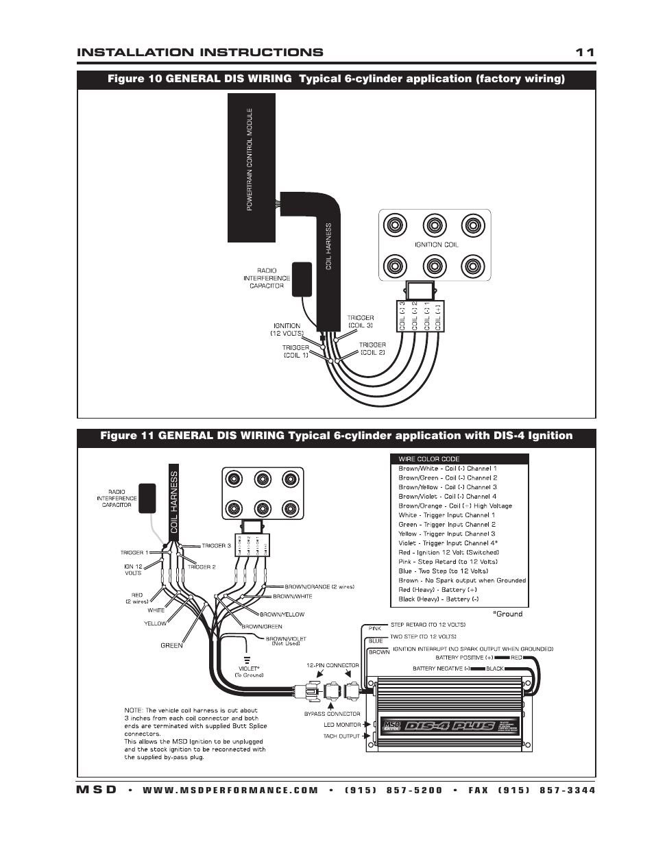 Msd 62152 Ignition Wiring Diagram. Msd Ignition Coil, Msd Ignition ...