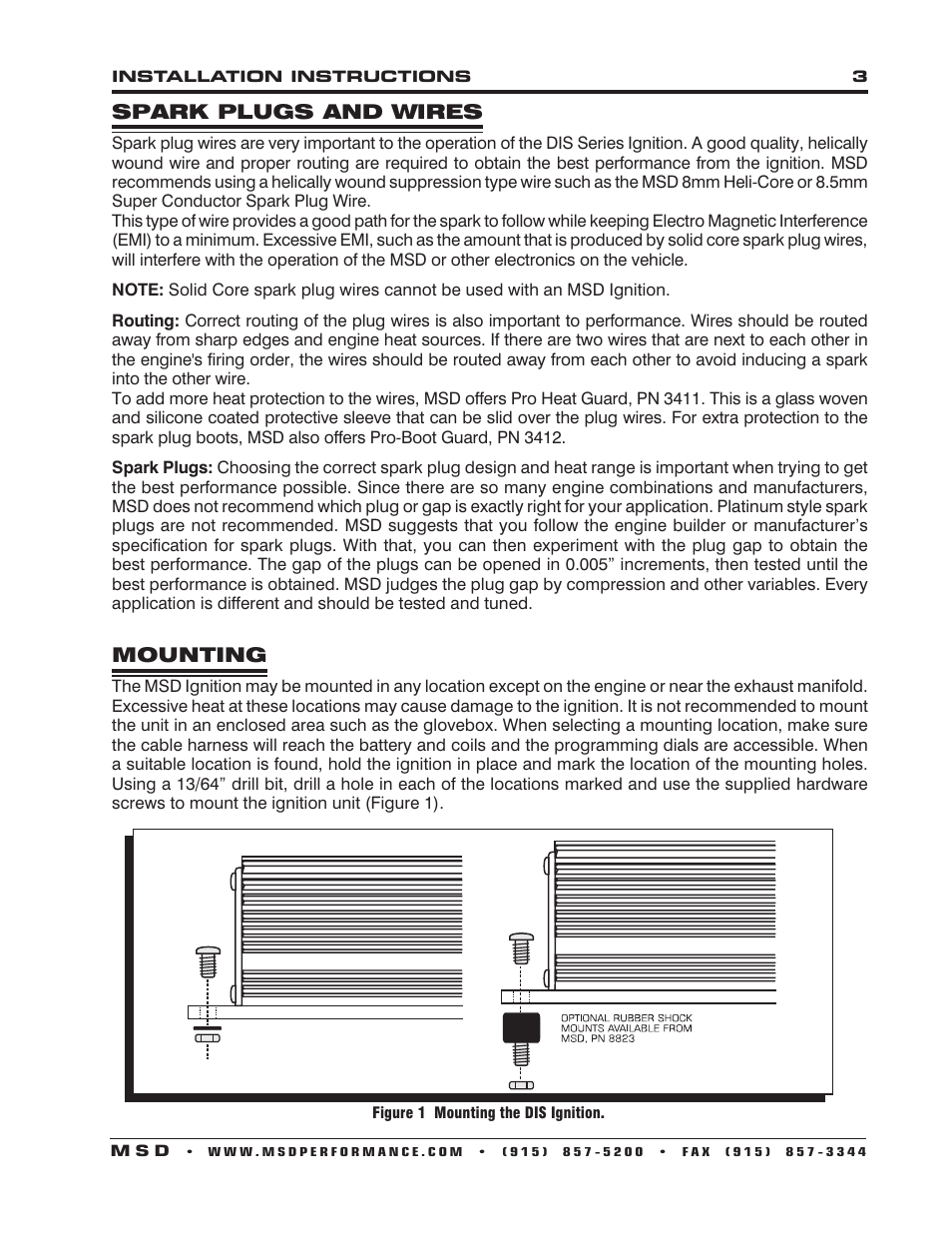 distributorless ignition user manuals