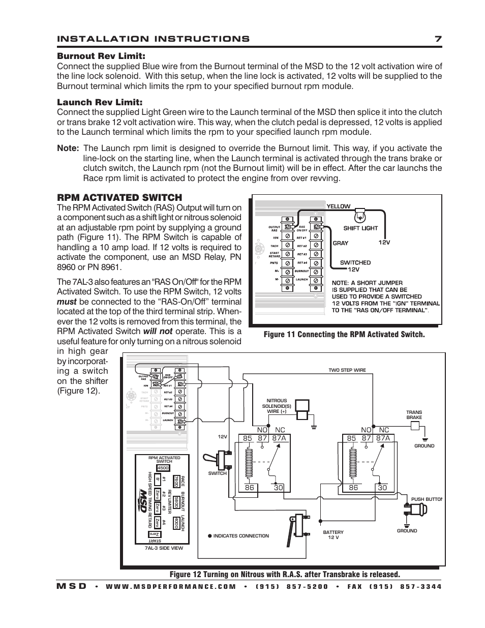 msd 7al 3 wiring basic wiring diagram \u2022 msd 3 step wiring-diagram msd 7al 3 7230 wiring diagram enthusiast wiring diagrams u2022 rh rasalibre co msd 7al3 wiring