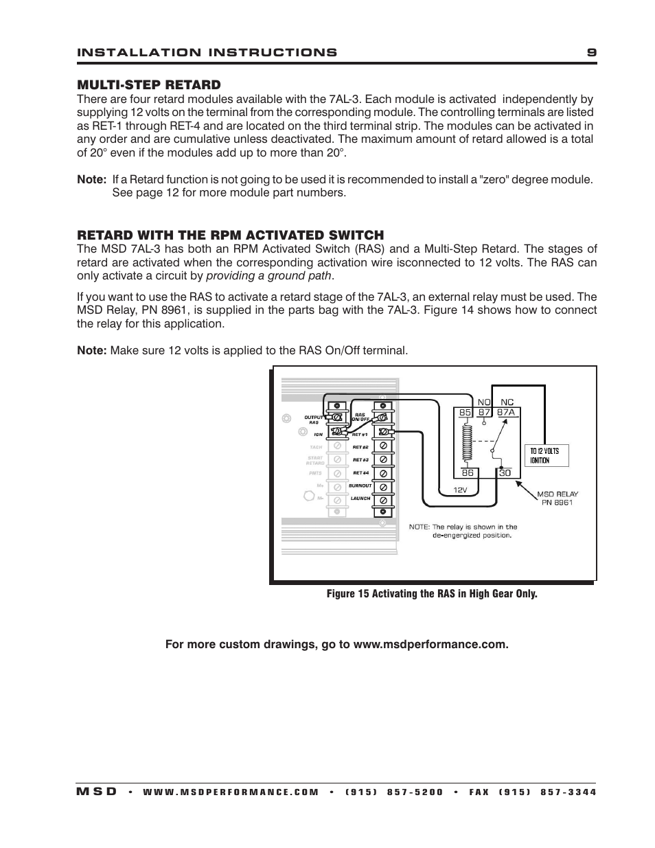 msd 7al 3 wiring diagram wiring diagram bookmark  msd 7al wiring diagram #9
