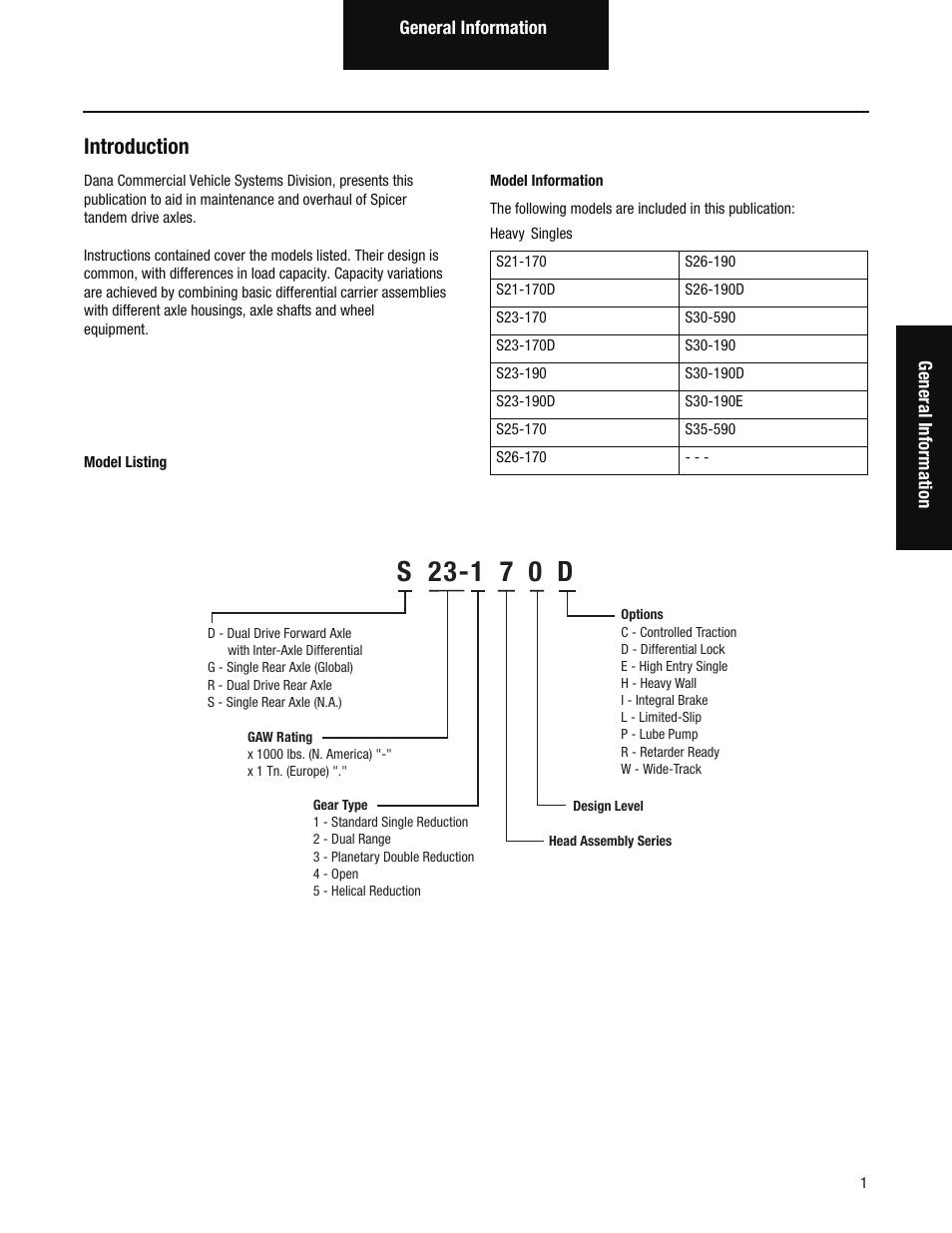 dana repair manual 213 axle