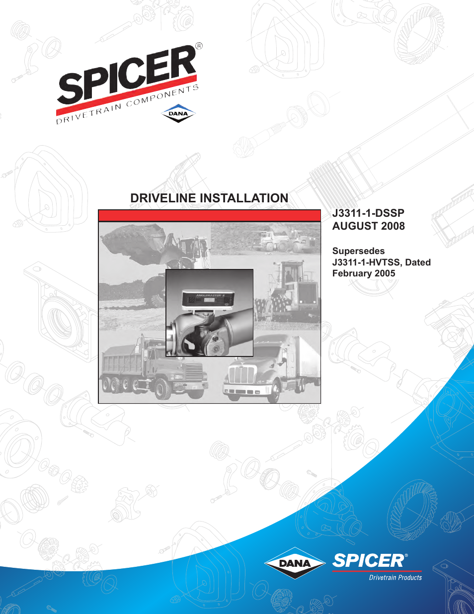 Spicer driveline installation service manual user manual 24 pages publicscrutiny Choice Image