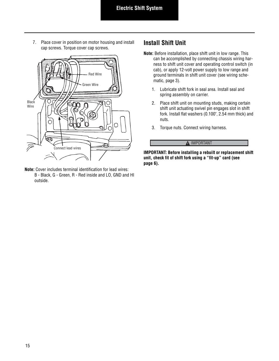 Wiring 2 Speed Rear Axle Diagram Books Of Eaton Diagrams Install Shift Unit Spicer Drive Axles Service Manual Rh Manualsdir Com
