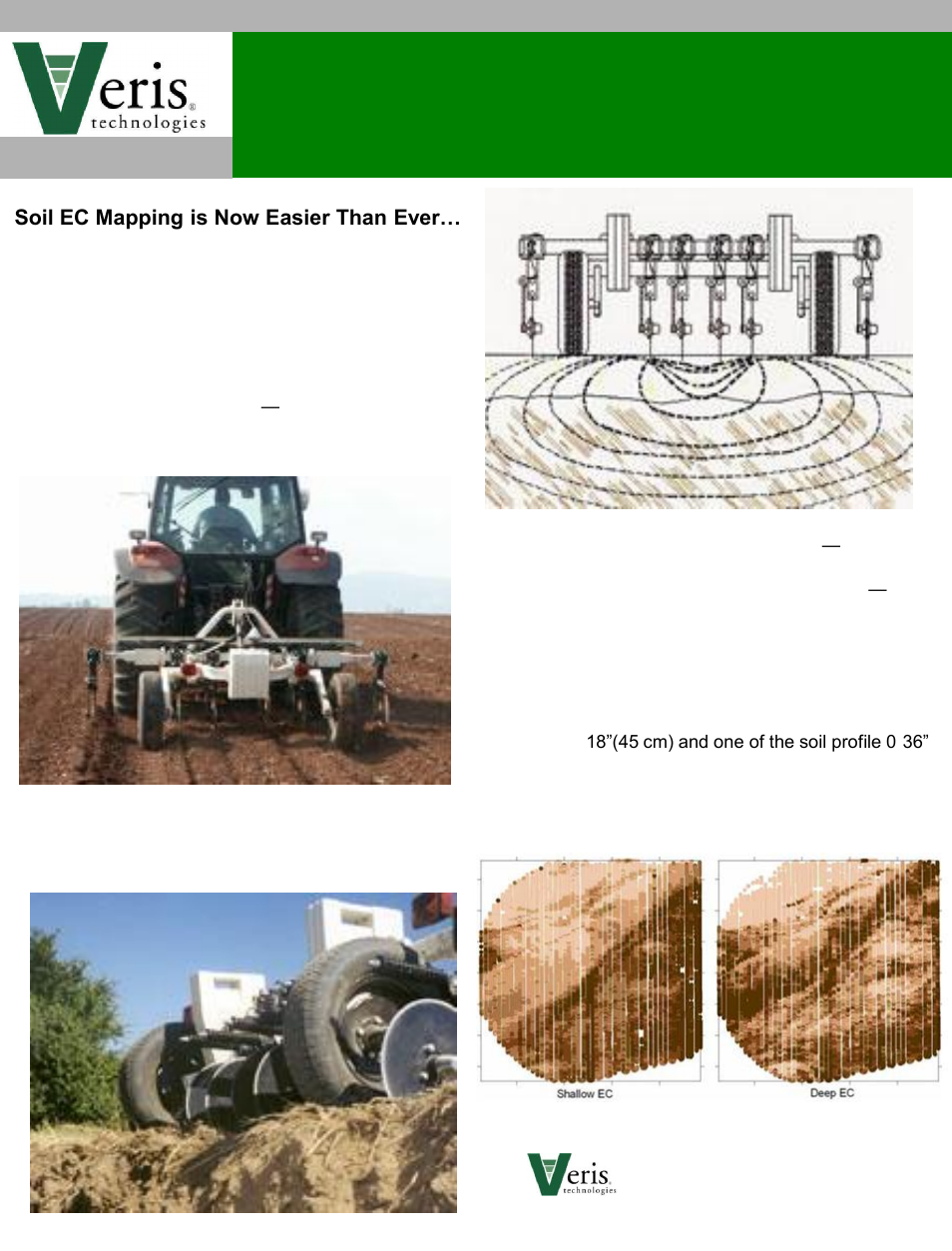 Veris technologies 3150 c soil ec mapping system product for Soil as a system