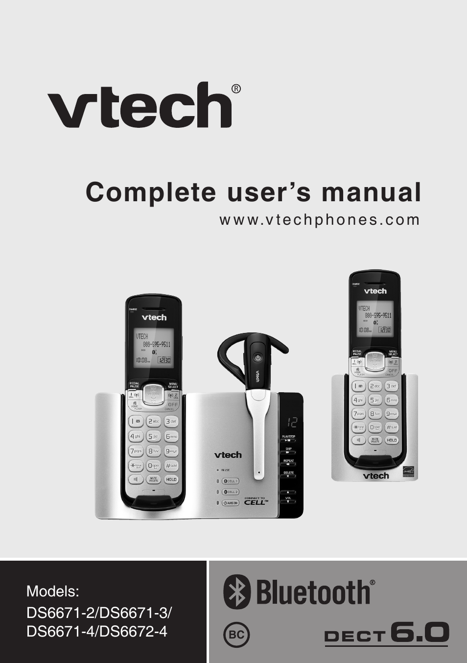 Vtech Ds6672 4 Manual User Manual 110 Pages