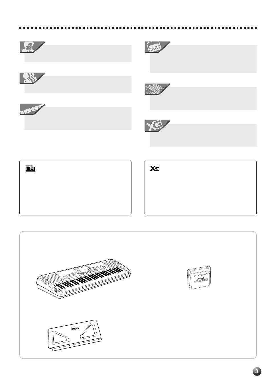 packing list yamaha psr 530 user manual page 5 130 original mode rh manualsdir com yamaha psr 540 manual pdf download yamaha keyboard psr-530 manual