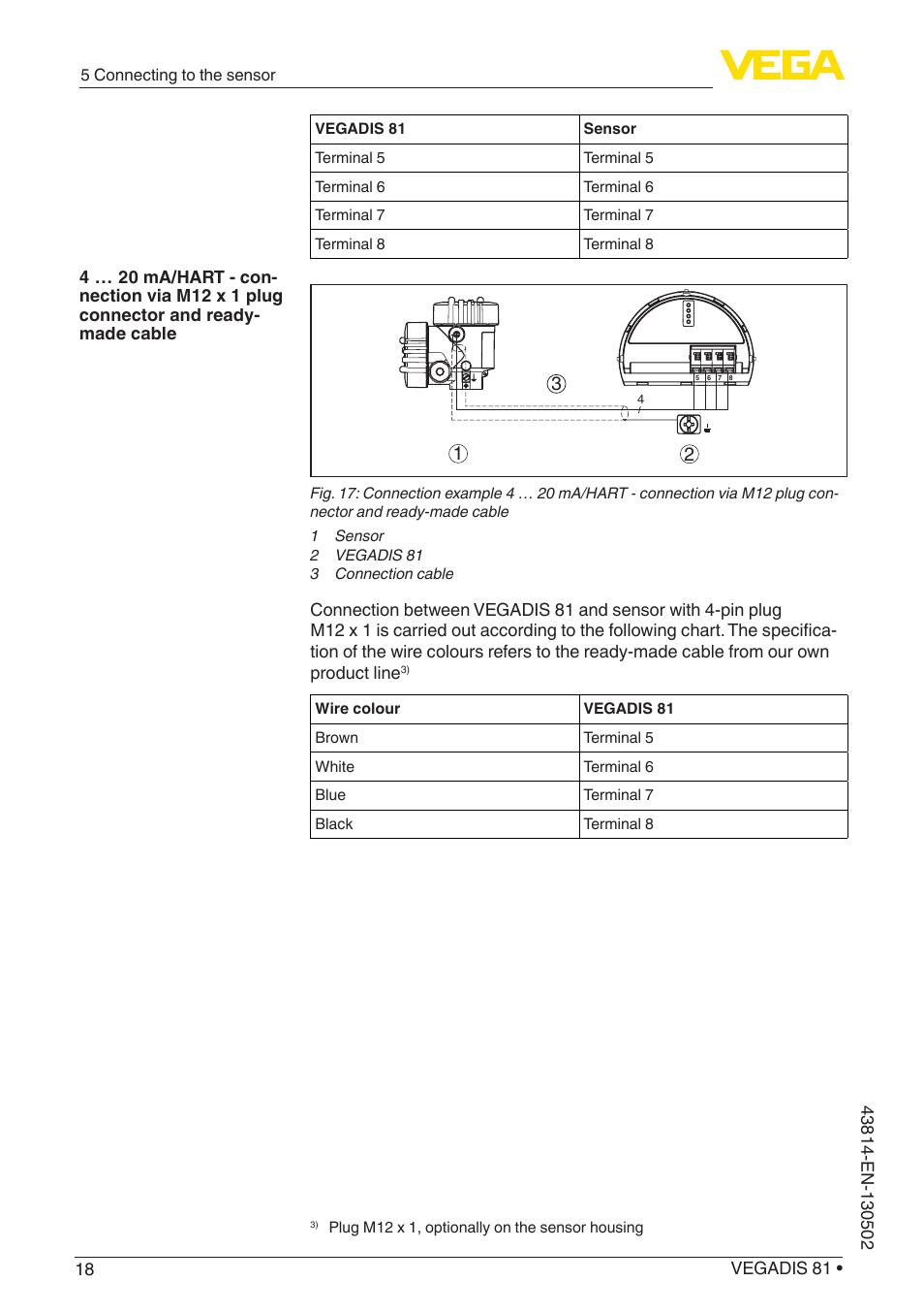 VEGA VEGADIS 81 User Manual | Page 18 / 32
