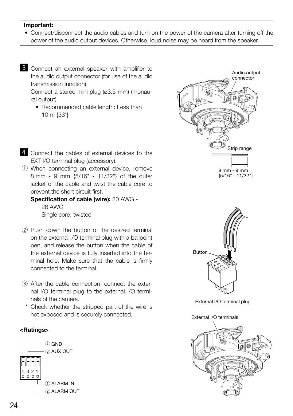 24 C Panasonic Wv Sf336 User Manual Page 44 Original Mode Amp Wiring Diagram