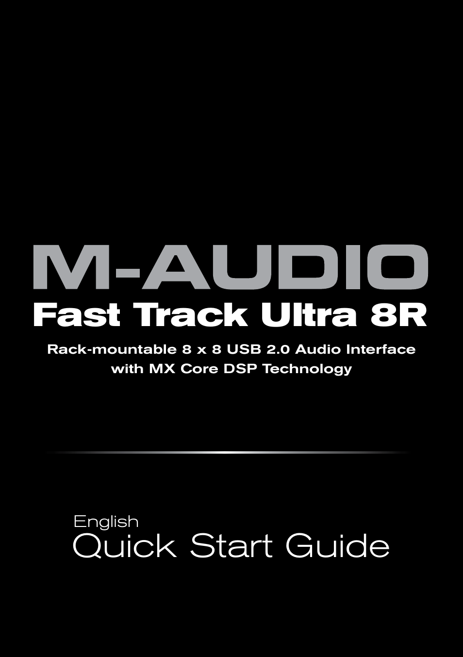 m audio fast track ultra 8r user manual 8 pages. Black Bedroom Furniture Sets. Home Design Ideas