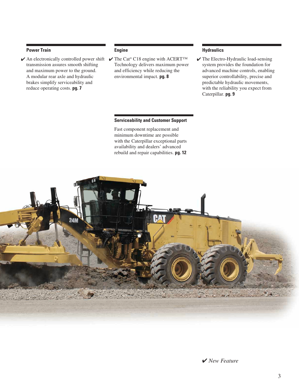 New feature | Milton CAT 24M User Manual | Page 3 / 20