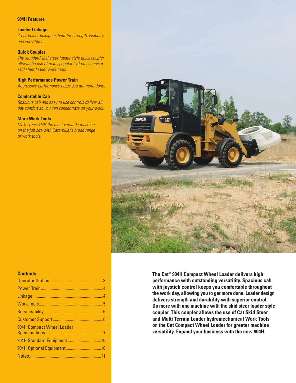 Milton CAT 904H User Manual | Page 2 / 12