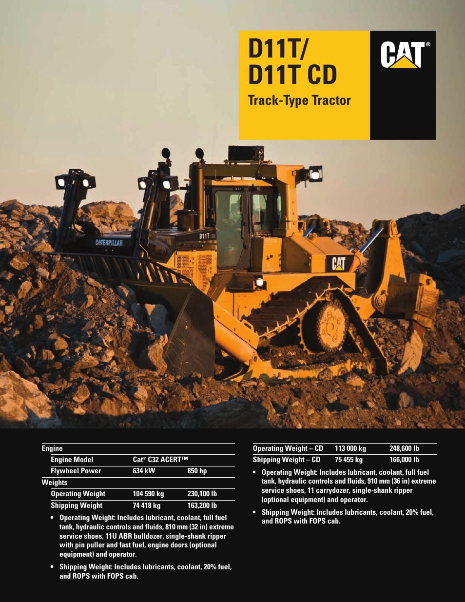 milton cat d11t cd user manual 28 pages rh manualsdir com kid trax cat bulldozer manual Cat Bulldozer Logo