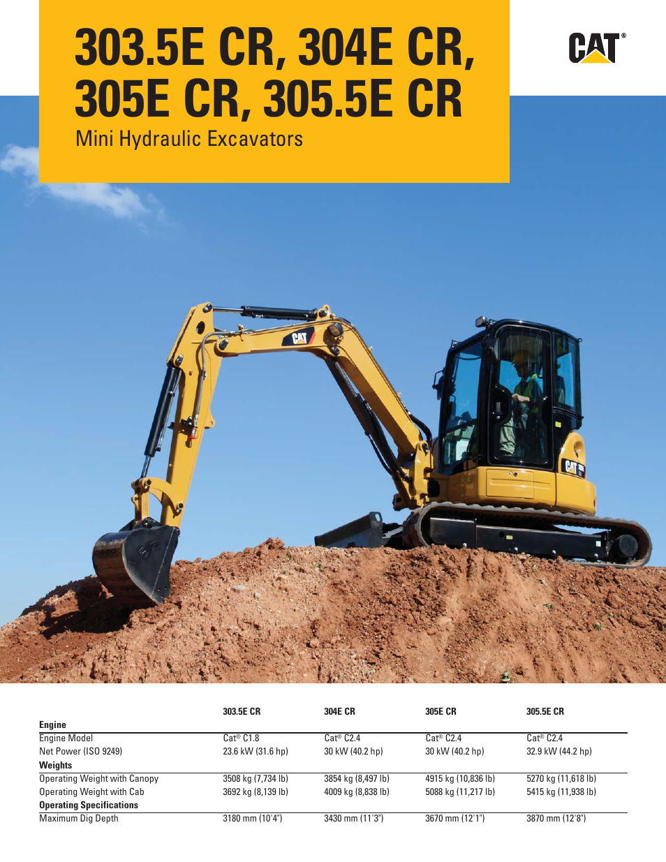 Milton Cat 305 5e Cr User Manual 24 Pages