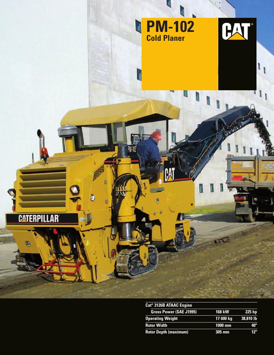 Milton Cat Pm 102 User Manual