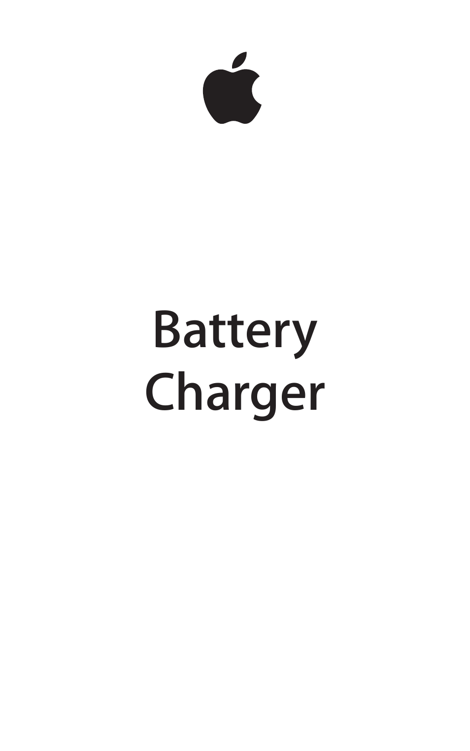 apple charger manual