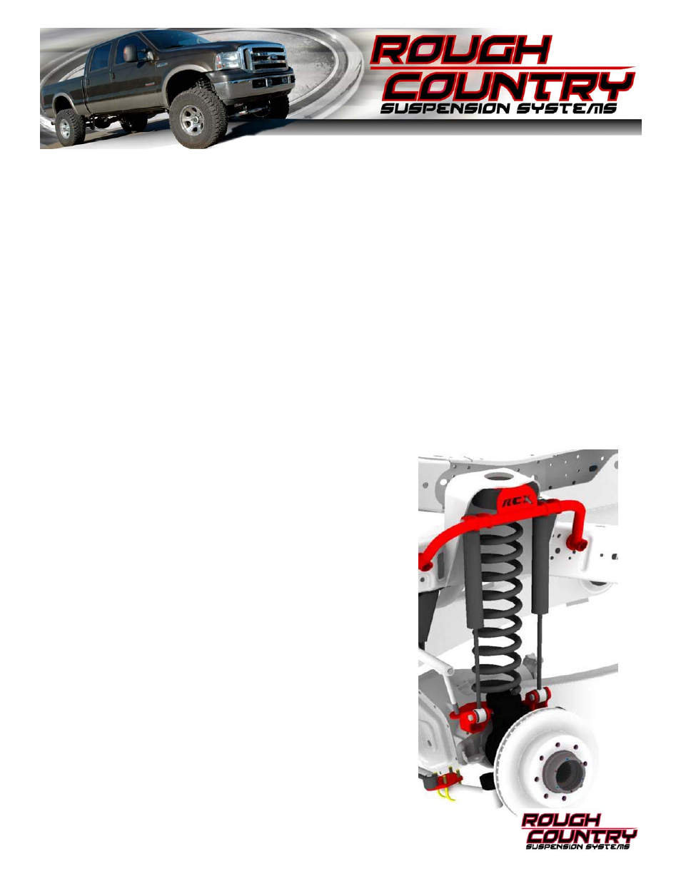 Rough Country 1406 User Manual | 4 pages