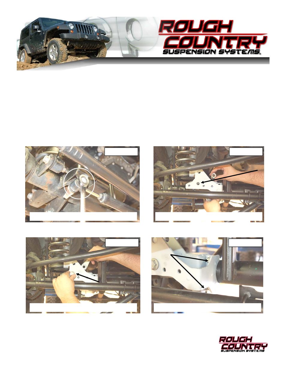 Rough Country 1118 User Manual | 2 pages