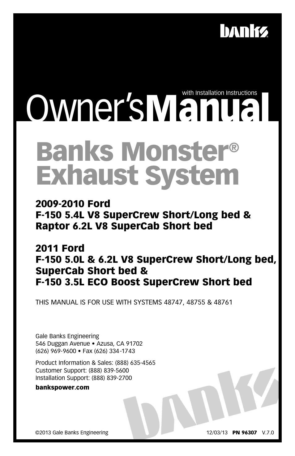 0 Ford F 150 Exhaust Systems Manual Guide