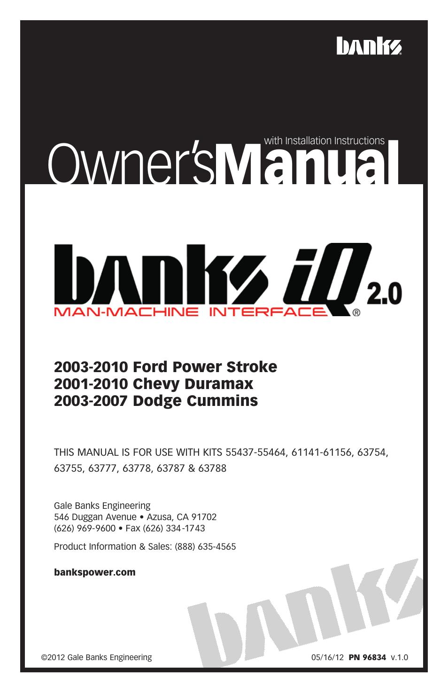 Banks Power Ford Trucks: (Diesel '03 - 07 6 0L Power Stroke