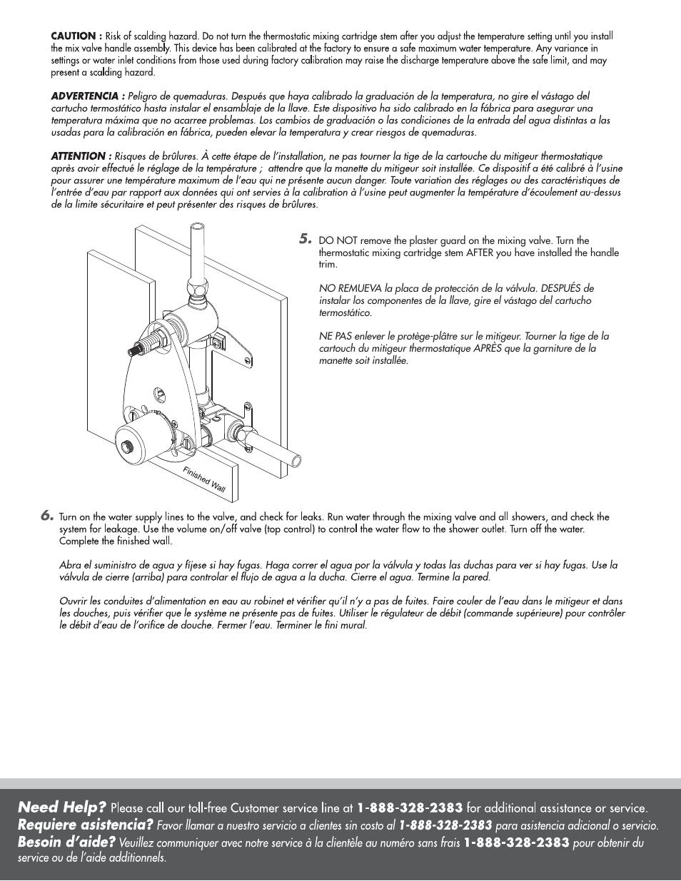 Danze D151000BT - Installation Manual User Manual | Page 7 / 8