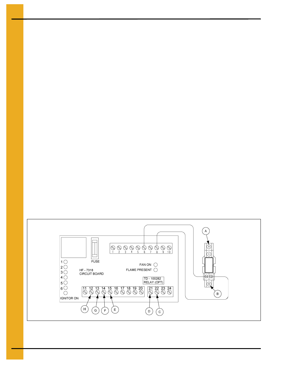 Second Heater Installation Chapter 6 Wiring A Relay Base For Units Using Hf 7318 Control Board Grain Systems Pneg 823 User Manual Page 16 42