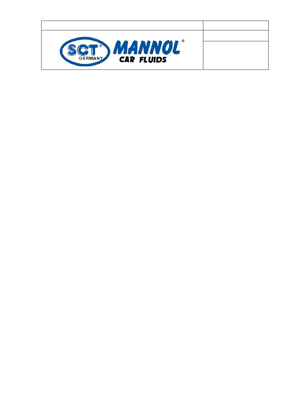 SCT-Germany DEFROSTER User Manual   4 pages