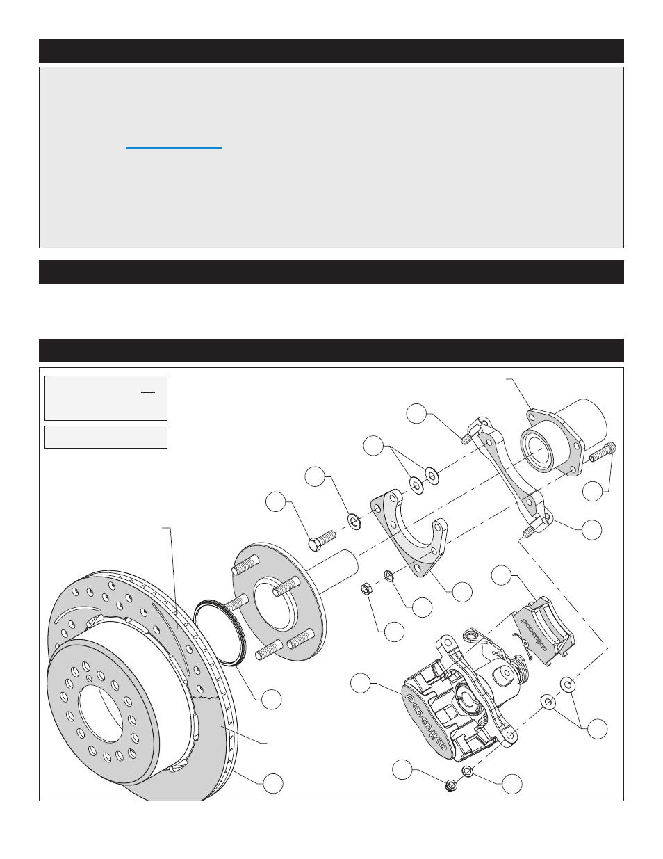 Exploded Assembly Diagram  Important Notice