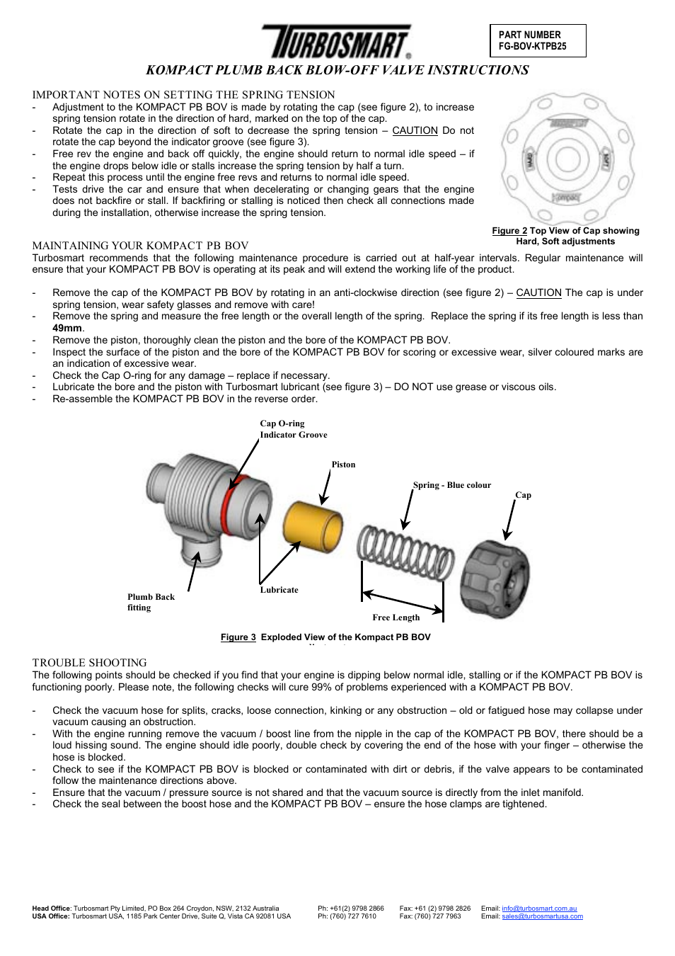 kompact plumb back blow off valve instructions turbosmart blow off rh manualsdir com back 2 life instruction manual Instruction Manual Book