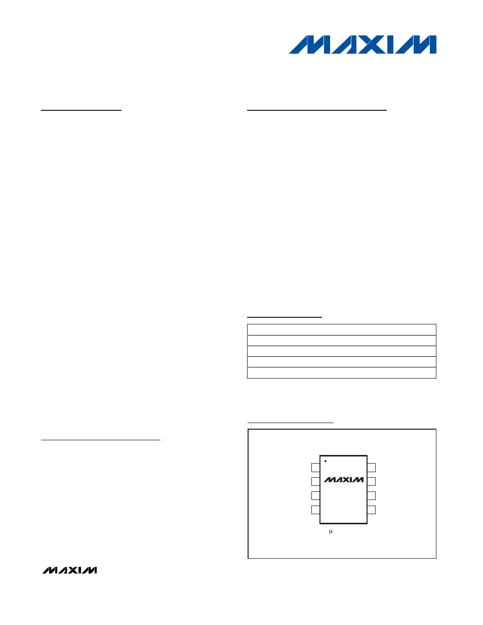 Rainbow Electronics MAX5071 User Manual | 22 pages