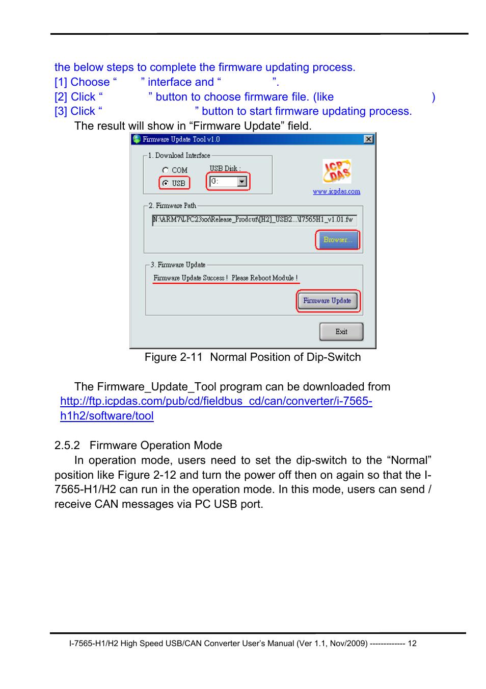 2 firmware operation mode, Firmware operation mode | B&B