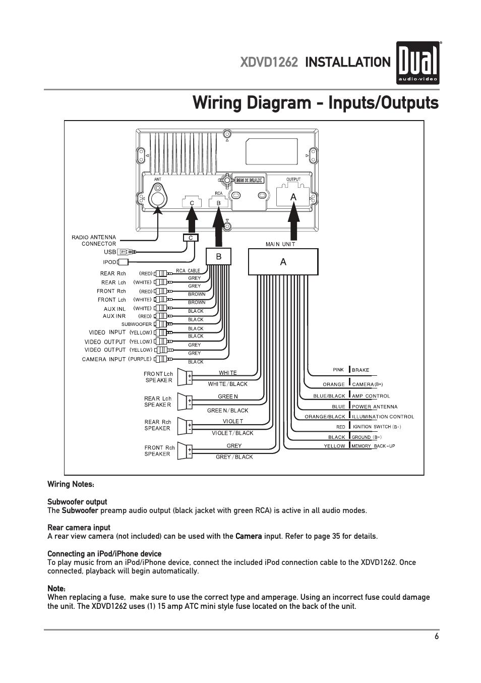 Ipod Wiring Diagram