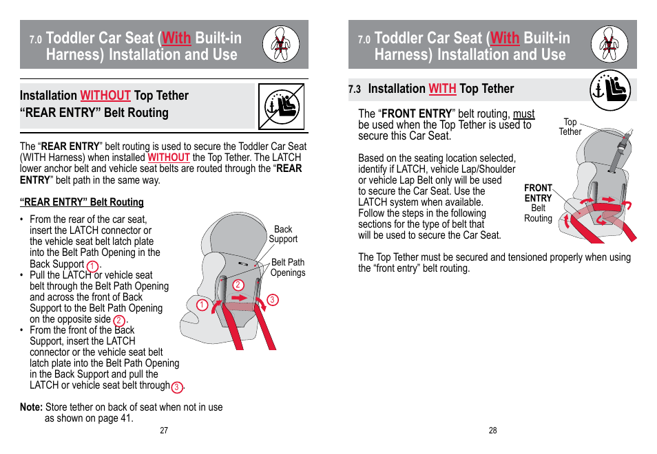 Babytrend Hybrid 3 In 1 User Manual Page 15 48
