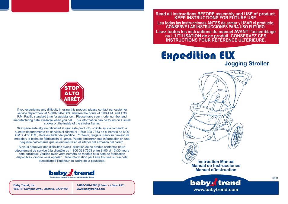babytrend tj93103 expedition elx travel system windsor user rh manualsdir com Baby Trend Travel System Baby Trend Expedition LX Travel System