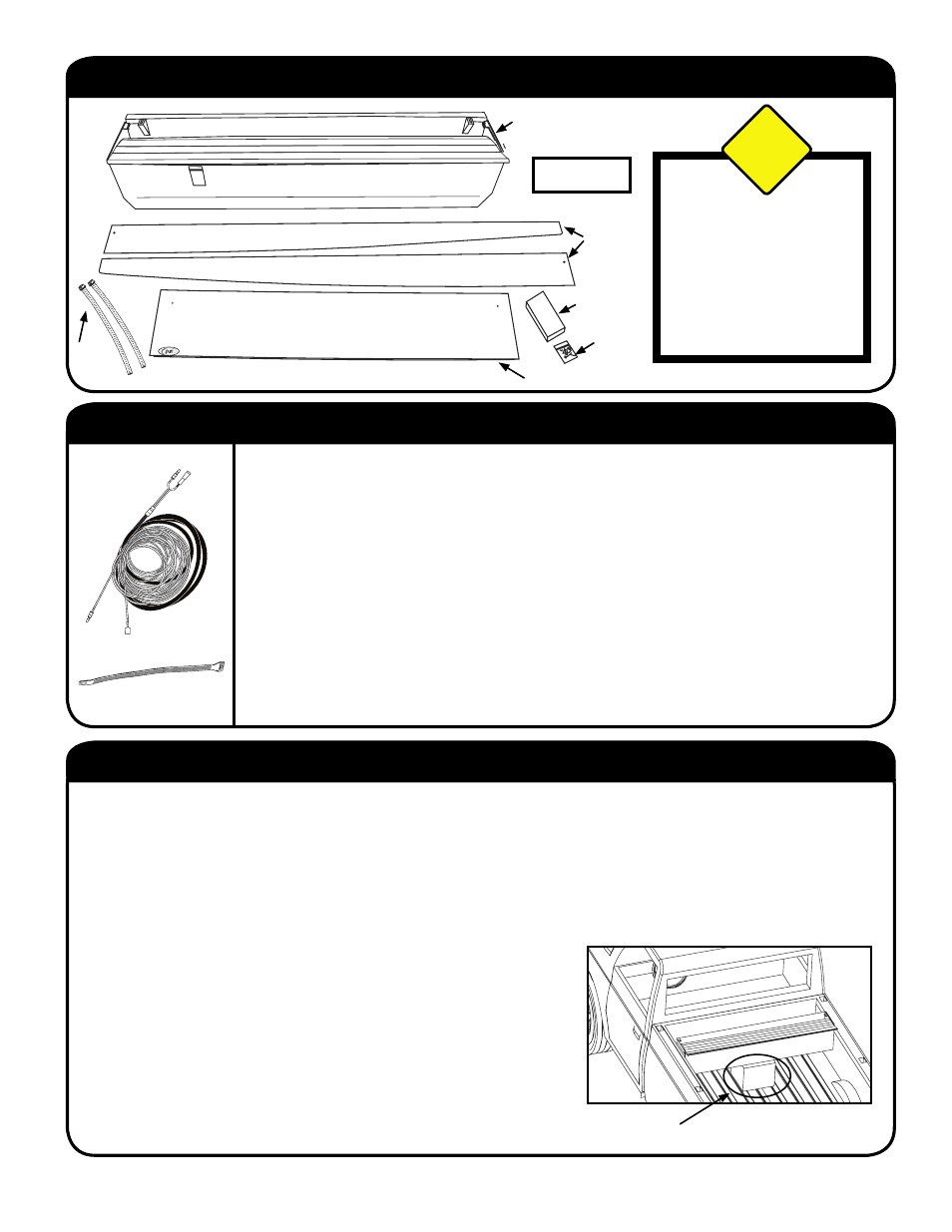 Step 3: place canister in truck bed, Step 2: install wiring harness,