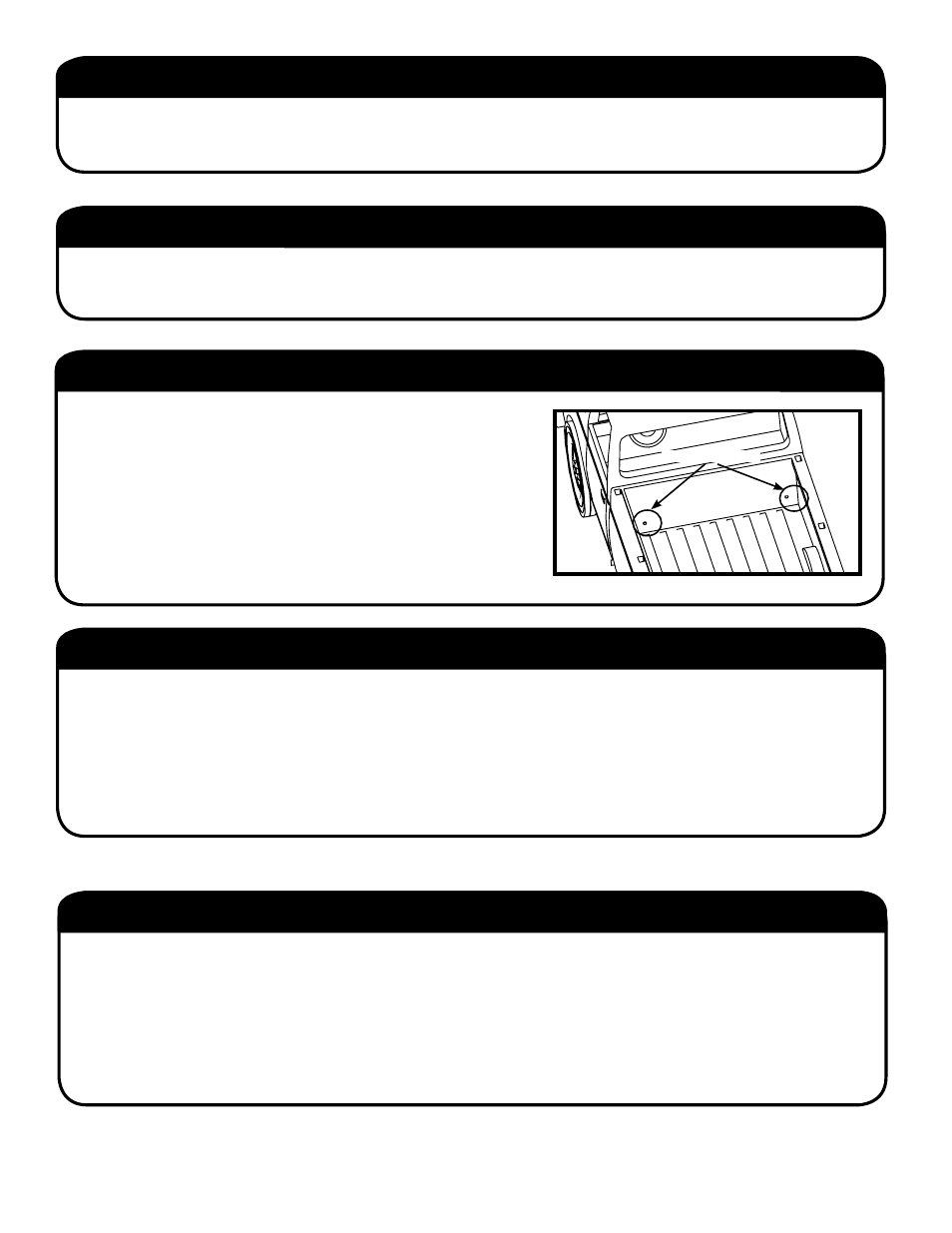 Drain Hole Locations Step 1 Remove Contents Plywood Packaging Nissan Wiring Harness Parts Tools Required For Assembly Before You Start Pace Edwards Bl Titan User Manual