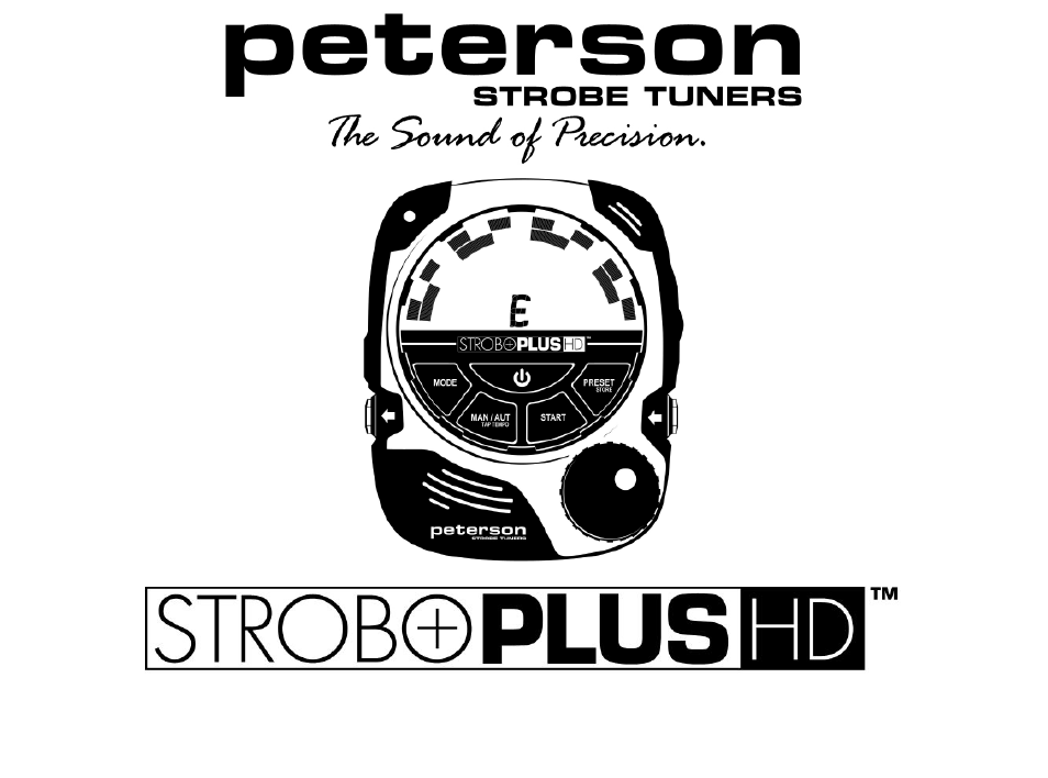 Peterson stroboplus hd owners manual user manual | page 8 / 22.