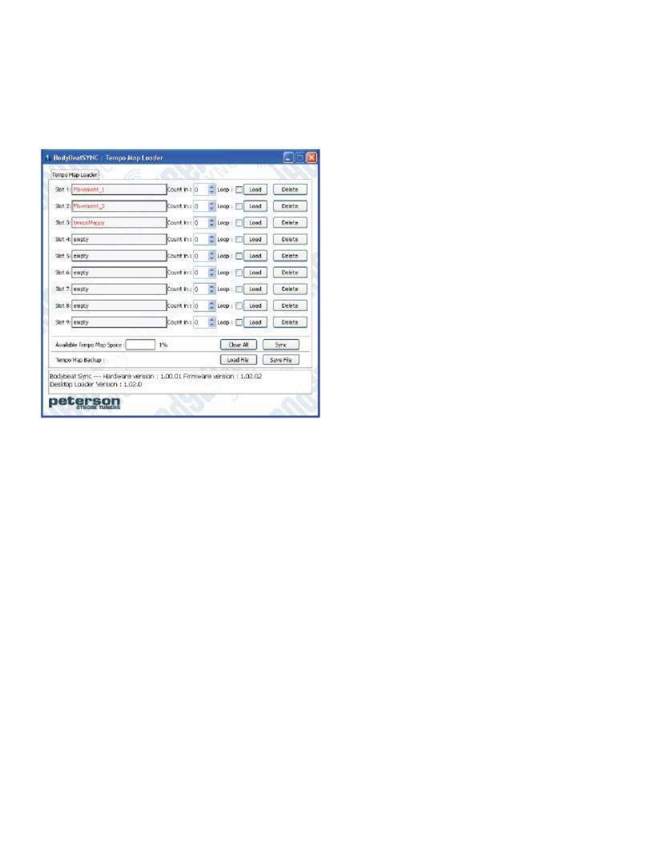 Peterson stroboplus hd owners manual user manual | page 6 / 22.