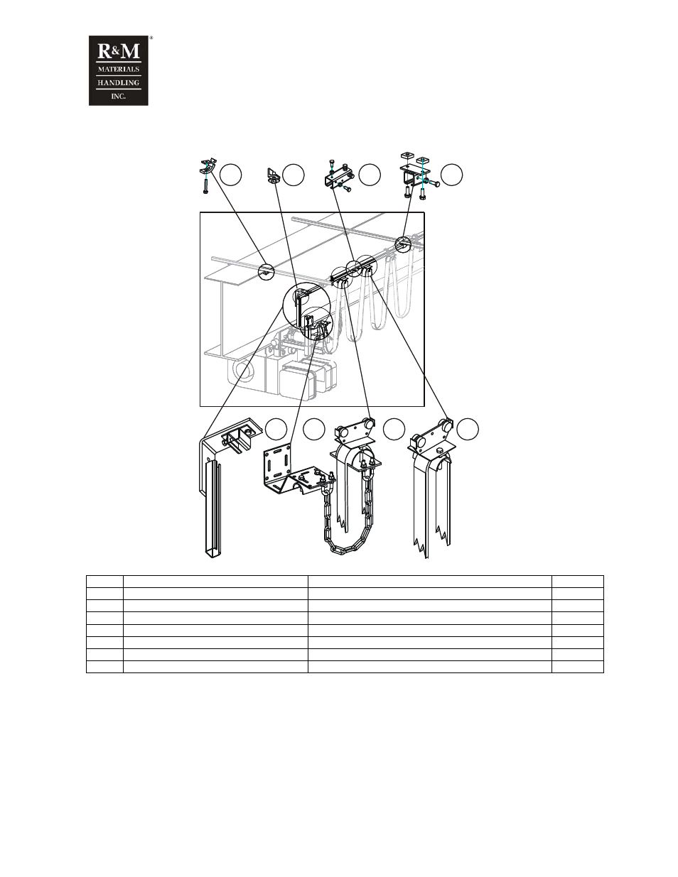 R&M Materials Handling WIRE ROPE PACKAGES User Manual   Page 18 / 76