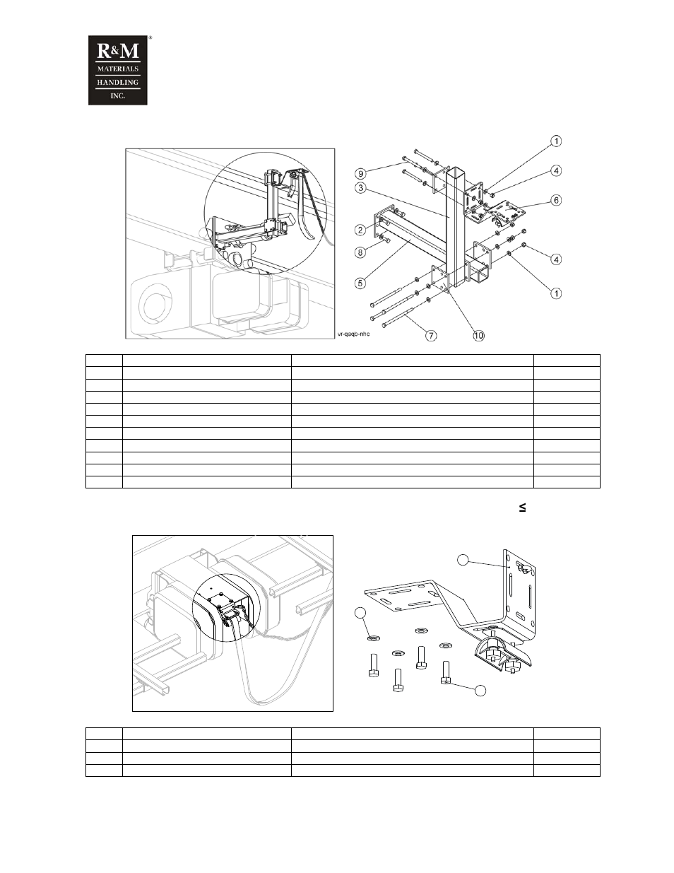 R&M Materials Handling WIRE ROPE PACKAGES User Manual | Page 29 / 76