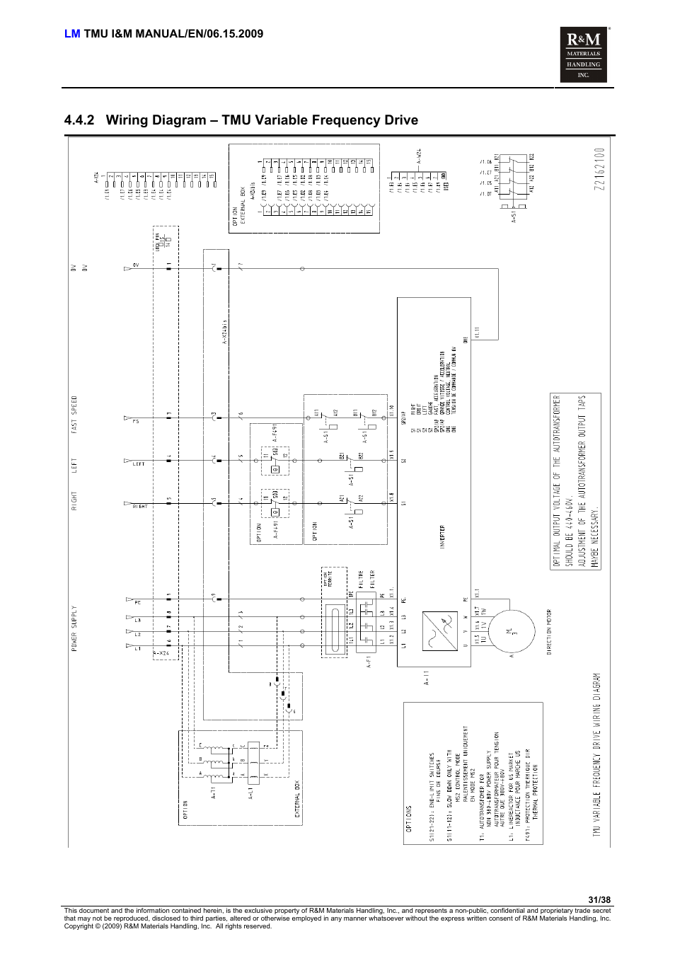 Wiring Diagram  U2013 Tmu Variable Frequency Drive  2 Wiring