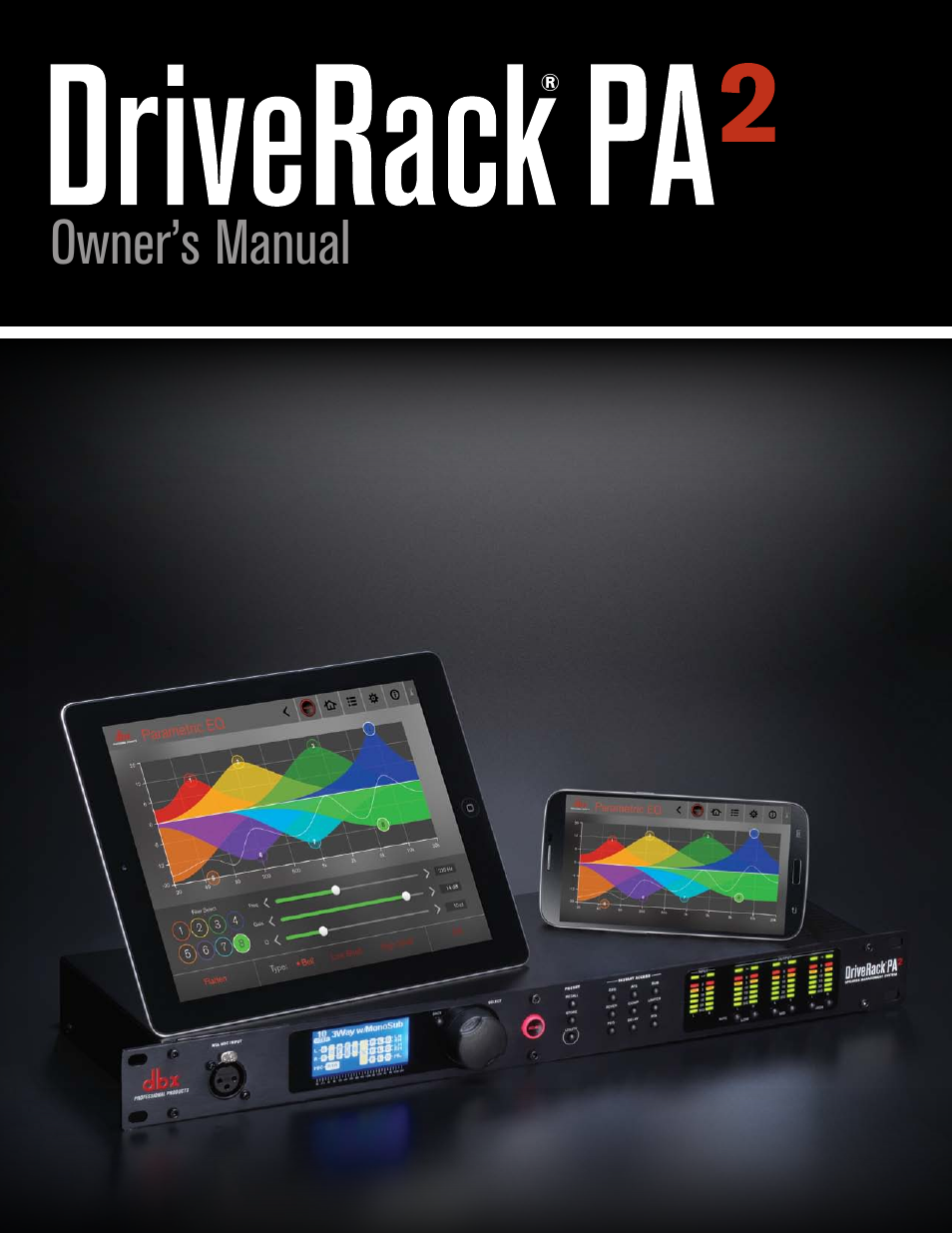 Dbx Driverack Pa2 User Manual 70 Pages