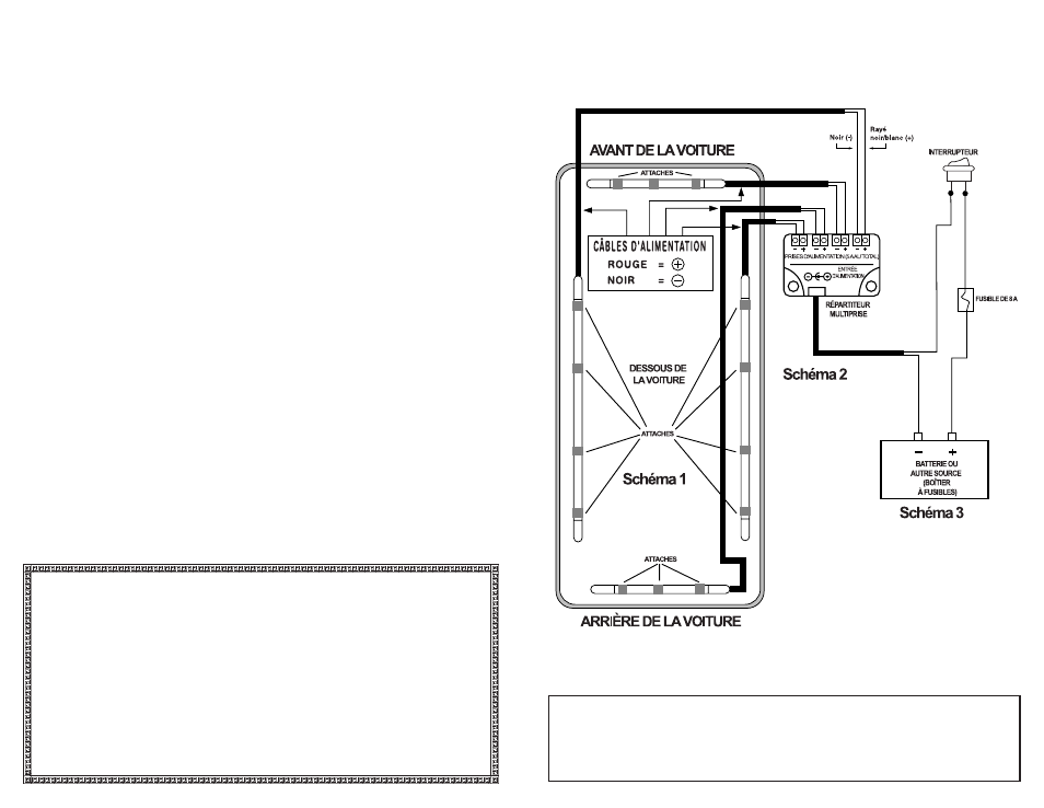 circuit de câblage, optx undercar kit installation instructions |  streetglow optx neon undercar kit user manual | page 2 / 4